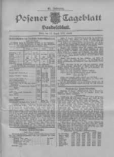 Posener Tageblatt. Handelsblatt 1907.08.17 Jg.46