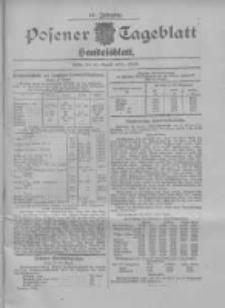 Posener Tageblatt. Handelsblatt 1907.08.20 Jg.46