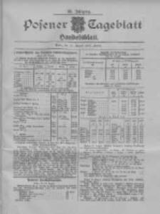 Posener Tageblatt. Handelsblatt 1907.08.21 Jg.46
