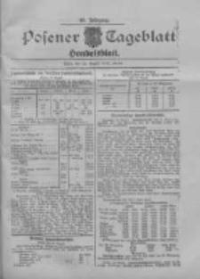 Posener Tageblatt. Handelsblatt 1907.08.22 Jg.46
