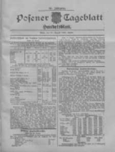 Posener Tageblatt. Handelsblatt 1907.08.24 Jg.46