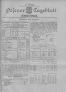 Posener Tageblatt. Handelsblatt 1907.08.26 Jg.46