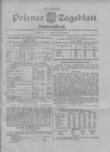 Posener Tageblatt. Handelsblatt 1907.08.27 Jg.46