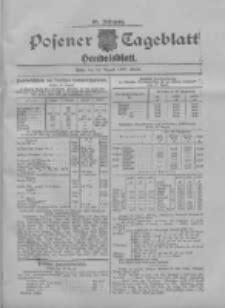 Posener Tageblatt. Handelsblatt 1907.08.28 Jg.46
