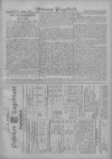 Posener Tageblatt. Handelsblatt 1907.08.30 Jg.46