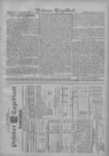 Posener Tageblatt. Handelsblatt 1907.09.02 Jg.46