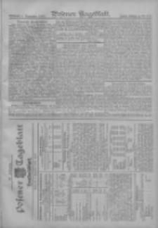 Posener Tageblatt. Handelsblatt 1907.09.03 Jg.46