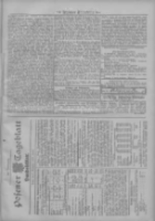 Posener Tageblatt. Handelsblatt 1907.09.07 Jg.46