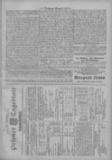 Posener Tageblatt. Handelsblatt 1907.09.09 Jg.46