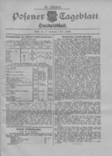 Posener Tageblatt. Handelsblatt 1907.09.10 Jg.46