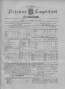 Posener Tageblatt. Handelsblatt 1907.09.11 Jg.46