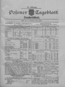 Posener Tageblatt. Handelsblatt 1907.09.13 Jg.46