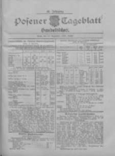 Posener Tageblatt. Handelsblatt 1907.09.18 Jg.46