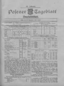 Posener Tageblatt. Handelsblatt 1907.09.20 Jg.46
