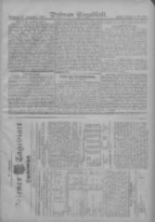 Posener Tageblatt. Handelsblatt 1907.09.24 Jg.46