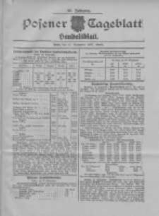 Posener Tageblatt. Handelsblatt 1907.09.26 Jg.46