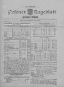 Posener Tageblatt. Handelsblatt 1907.09.27 Jg.46