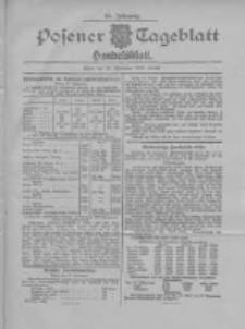 Posener Tageblatt. Handelsblatt 1907.09.28 Jg.46