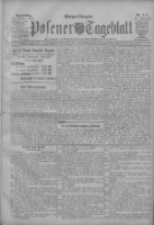 Posener Tageblatt 1907.10.31 Jg.46 Nr511