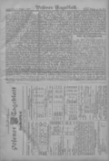 Posener Tageblatt. Handelsblatt 1907.10.02 Jg.46