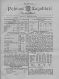 Posener Tageblatt. Handelsblatt 1907.10.03 Jg.46