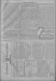 Posener Tageblatt. Handelsblatt 1907.10.12 Jg.46