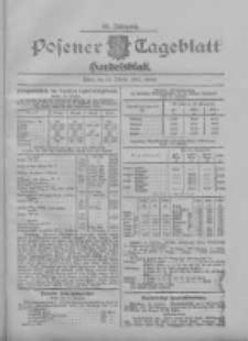 Posener Tageblatt. Handelsblatt 1907.10.14 Jg.46