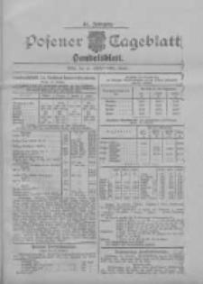 Posener Tageblatt. Handelsblatt 1907.10.16 Jg.46