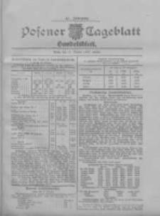 Posener Tageblatt. Handelsblatt 1907.10.17 Jg.46