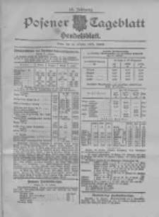 Posener Tageblatt. Handelsblatt 1907.10.18 Jg.46