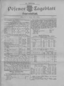 Posener Tageblatt. Handelsblatt 1907.10.21 Jg.46