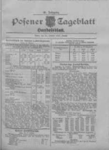 Posener Tageblatt. Handelsblatt 1907.10.22 Jg.46