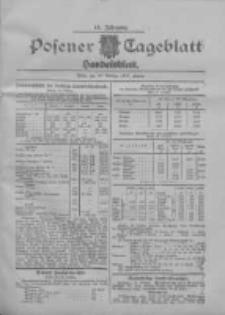 Posener Tageblatt. Handelsblatt 1907.10.23 Jg.46
