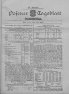 Posener Tageblatt. Handelsblatt 1907.10.24 Jg.46