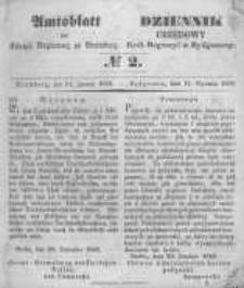 Amtsblatt der Königlichen Preussischen Regierung zu Bromberg. 1850.01.11 No.2