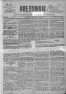 Orędownik: pismo poświęcone sprawom politycznym i spółecznym 1901.01.01 R.31 Nr1