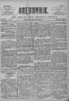 Orędownik: pismo poświęcone sprawom politycznym i spółecznym 1901.01.05 R.31 Nr4