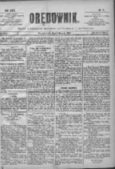 Orędownik: pismo poświęcone sprawom politycznym i spółecznym 1901.01.09 R.31 Nr7