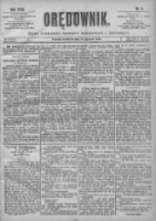 Orędownik: pismo poświęcone sprawom politycznym i spółecznym 1901.01.13 R.31 Nr11