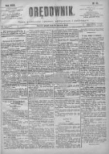 Orędownik: pismo poświęcone sprawom politycznym i spółecznym 1901.01.18 R.31 Nr15