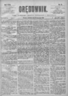Orędownik: pismo poświęcone sprawom politycznym i spółecznym 1901.01.20 R.31 Nr17