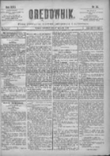Orędownik: pismo poświęcone sprawom politycznym i spółecznym 1901.01.27 R.31 Nr23