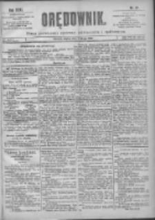 Orędownik: pismo poświęcone sprawom politycznym i spółecznym 1901.02.01 R.31 Nr27