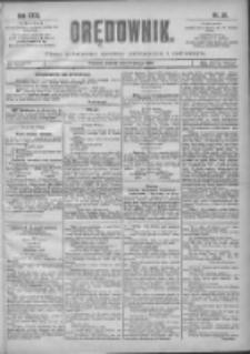 Orędownik: pismo poświęcone sprawom politycznym i spółecznym 1901.02.02 R.31 Nr28
