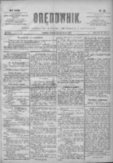 Orędownik: pismo poświęcone sprawom politycznym i spółecznym 1901.02.05 R.31 Nr29