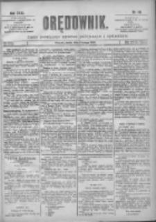 Orędownik: pismo poświęcone sprawom politycznym i spółecznym 1901.02.06 R.31 Nr30