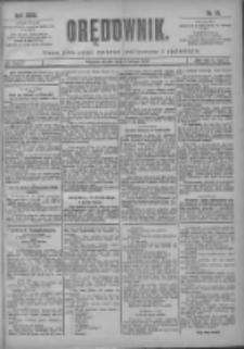 Orędownik: pismo poświęcone sprawom politycznym i spółecznym 1901.02.08 R.31 Nr32