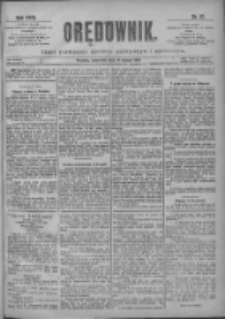 Orędownik: pismo poświęcone sprawom politycznym i spółecznym 1901.02.14 R.31 Nr37