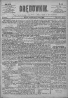 Orędownik: pismo poświęcone sprawom politycznym i spółecznym 1901.02.17 R.31 Nr40