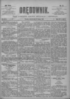 Orędownik: pismo poświęcone sprawom politycznym i spółecznym 1901.02.19 R.31 Nr41